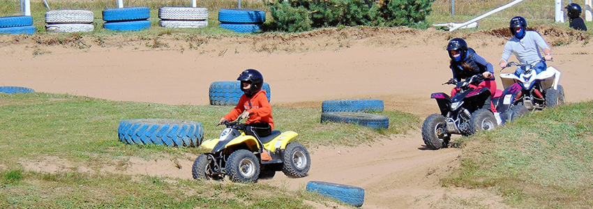Quadrijden kan ook voor de kinderen met de kidsquad in de Ardennen